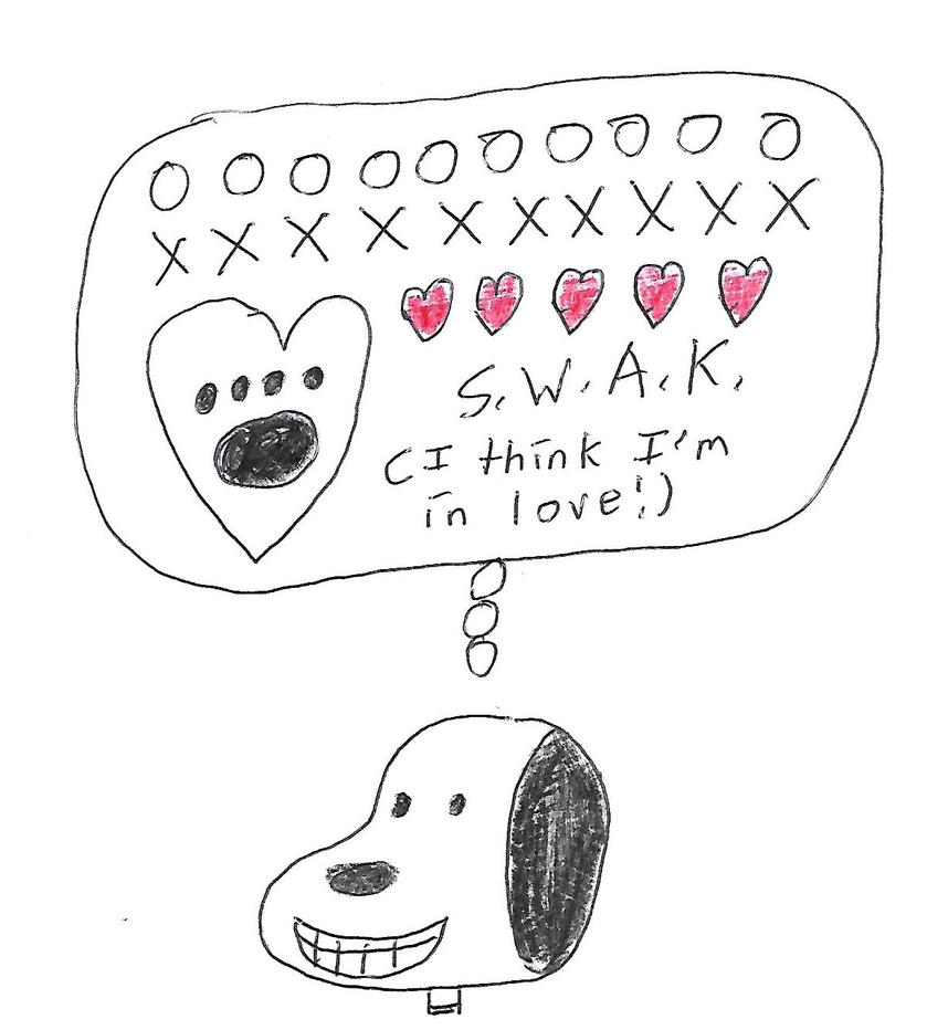 Snoopy - I think I'm in love by dth1971