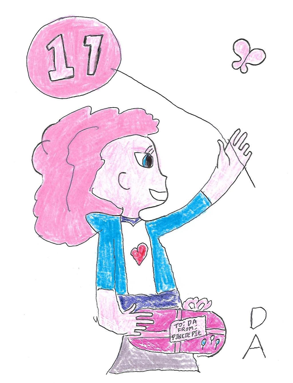 Pinkie Pie - DA 17th. birthday by dth1971