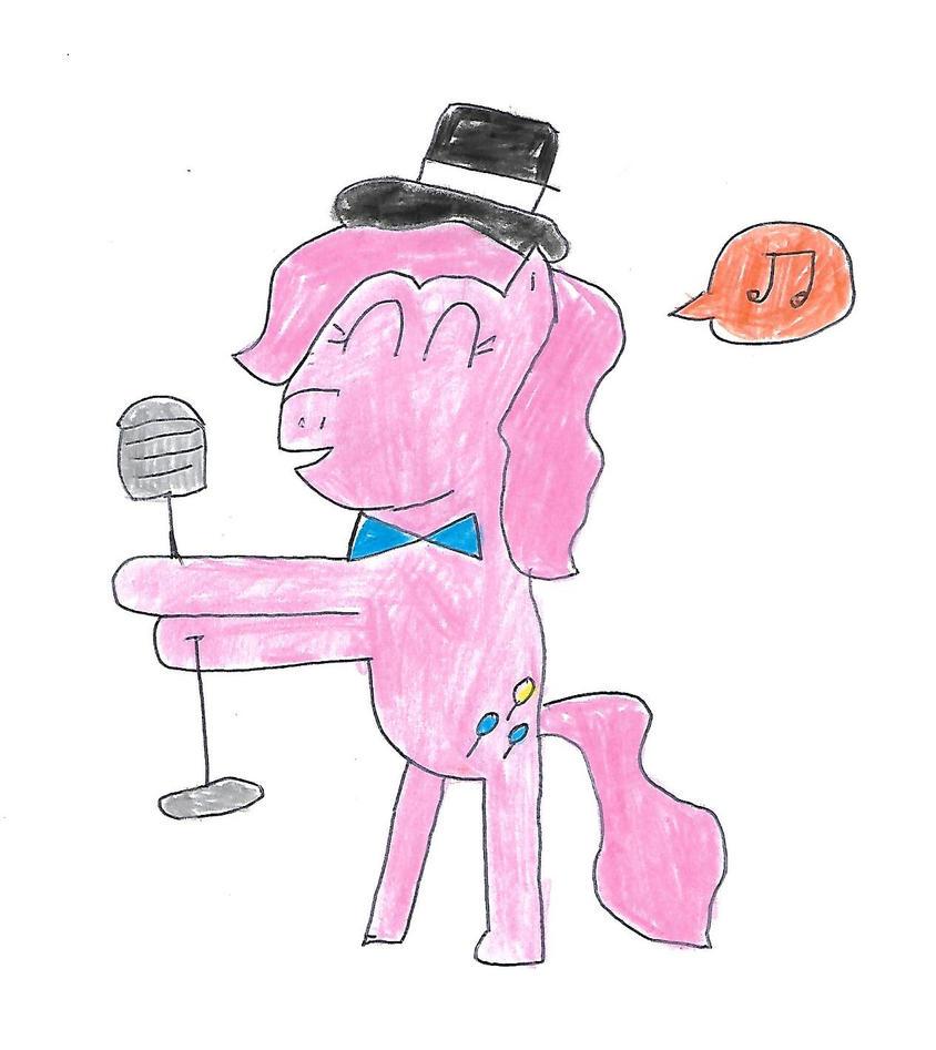 Pinkie Pie - Fancy singer by dth1971