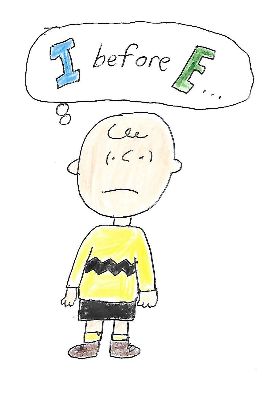 Charlie Brown - I Before E... by dth1971