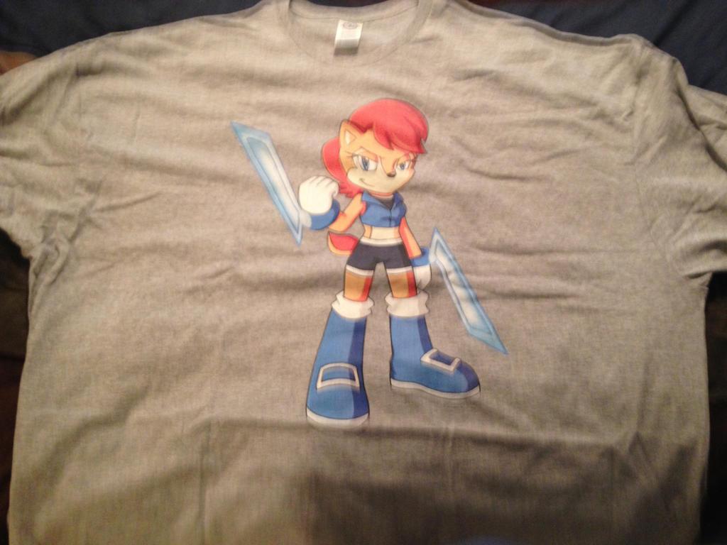 My Sally Acorn T-shirt by dth1971