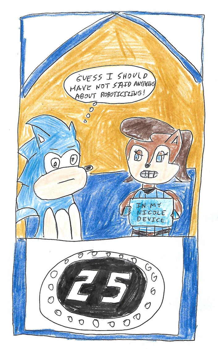 Sonic and Sally on the Newlywed Game by dth1971