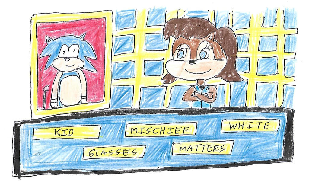Sonic and Sally Acorn play Star Words by dth1971