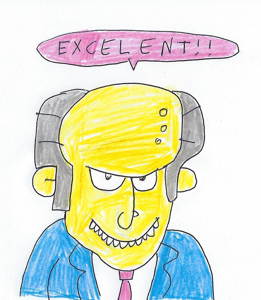 Mr. Burns by dth1971