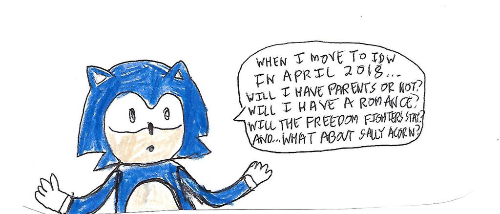 Questions from Sonic about his 2018 IDW relaunch by dth1971