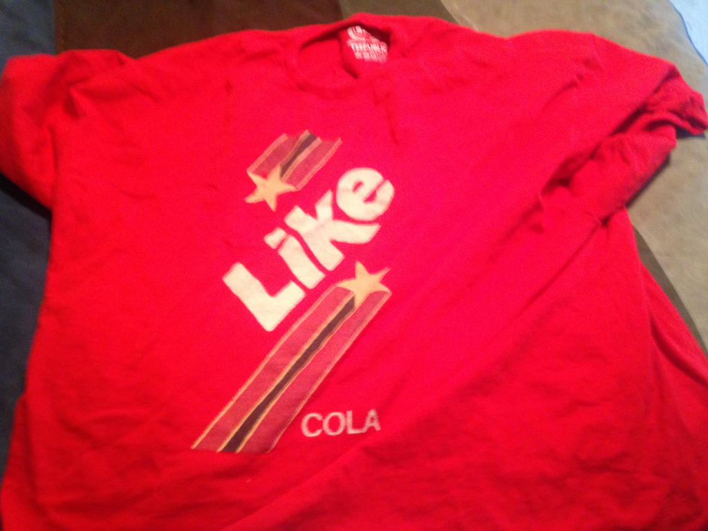 Like Cola T-shirt by dth1971