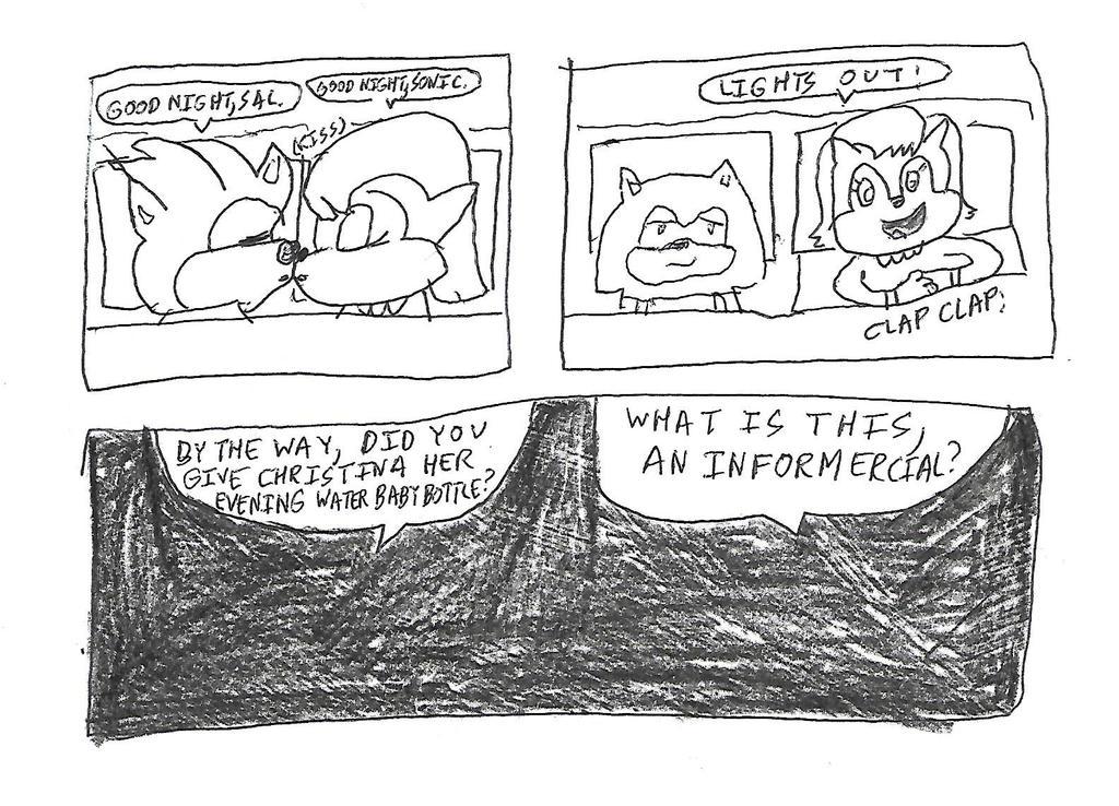 Hedgeacorn comic strip #3 by dth1971