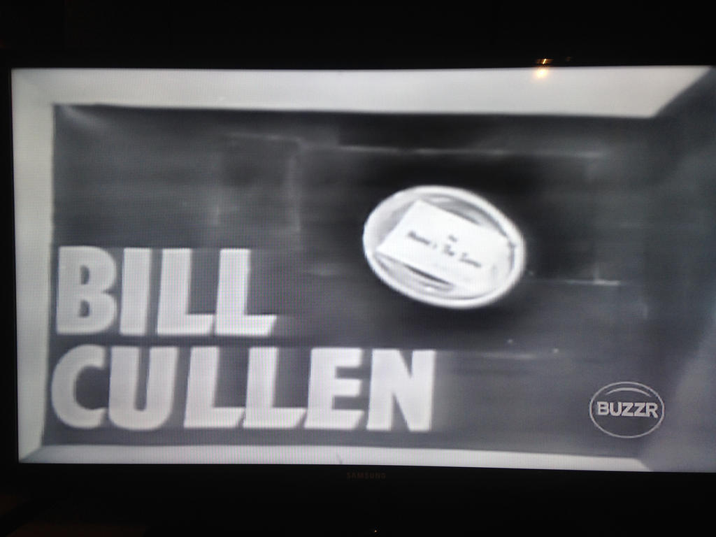 Bill Cullen's name on The Name The Same board by dth1971