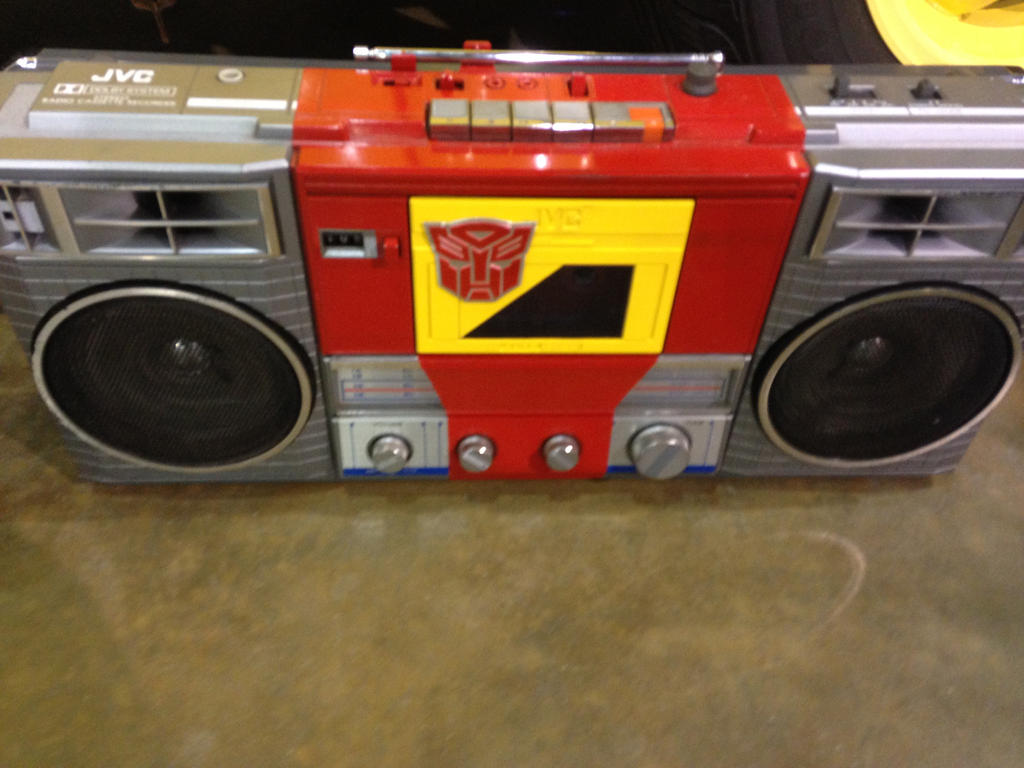 Transformers Boom Box radio by dth1971