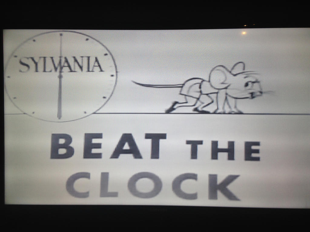 Circa 1952-1953 Beat the Clock end credit title by dth1971