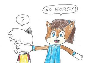 No spoilers on Miss Lemur