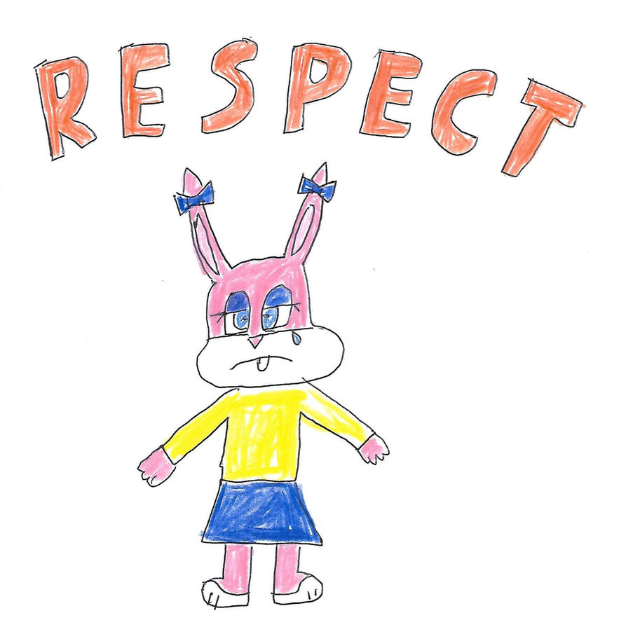 Babs Bunny - RESPECT by dth1971