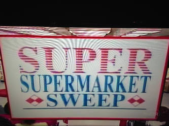 SUPER SUPERMARKET SWEEP logo by dth1971