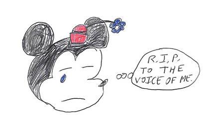 Sad Minnie Mouse (tribute)