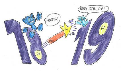 Happy 19th., DA!
