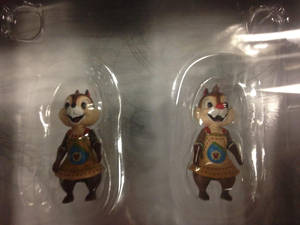 Chip 'n Dale Kingdom Hearts mini figures