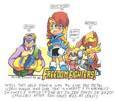 Could the Freedom Fighters stop the METAL VIRUS?