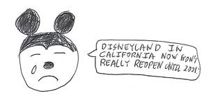 Disneyland won't really reopen until 2021