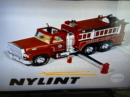 1984 Nylint Fire Truck toy ad card
