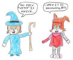 Sonic 13 days of Halloween Day 2 - Sally/Bunnie