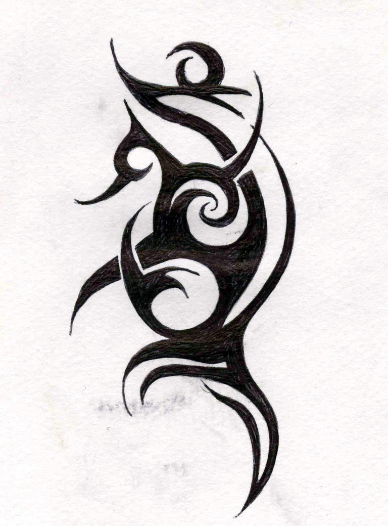 Tribal tattoo by FunkyStar