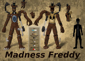 Madness Freddy - Updated Reference Sheet