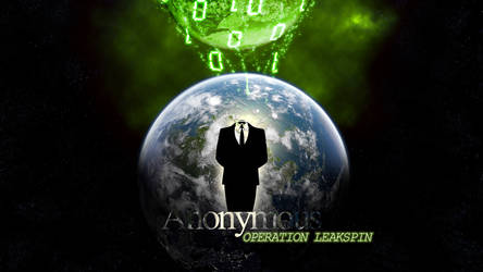 Anonymous Operation: LeakSpin by AnonymousArtwork