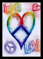 Peace and Love United by Pastel-Kisses
