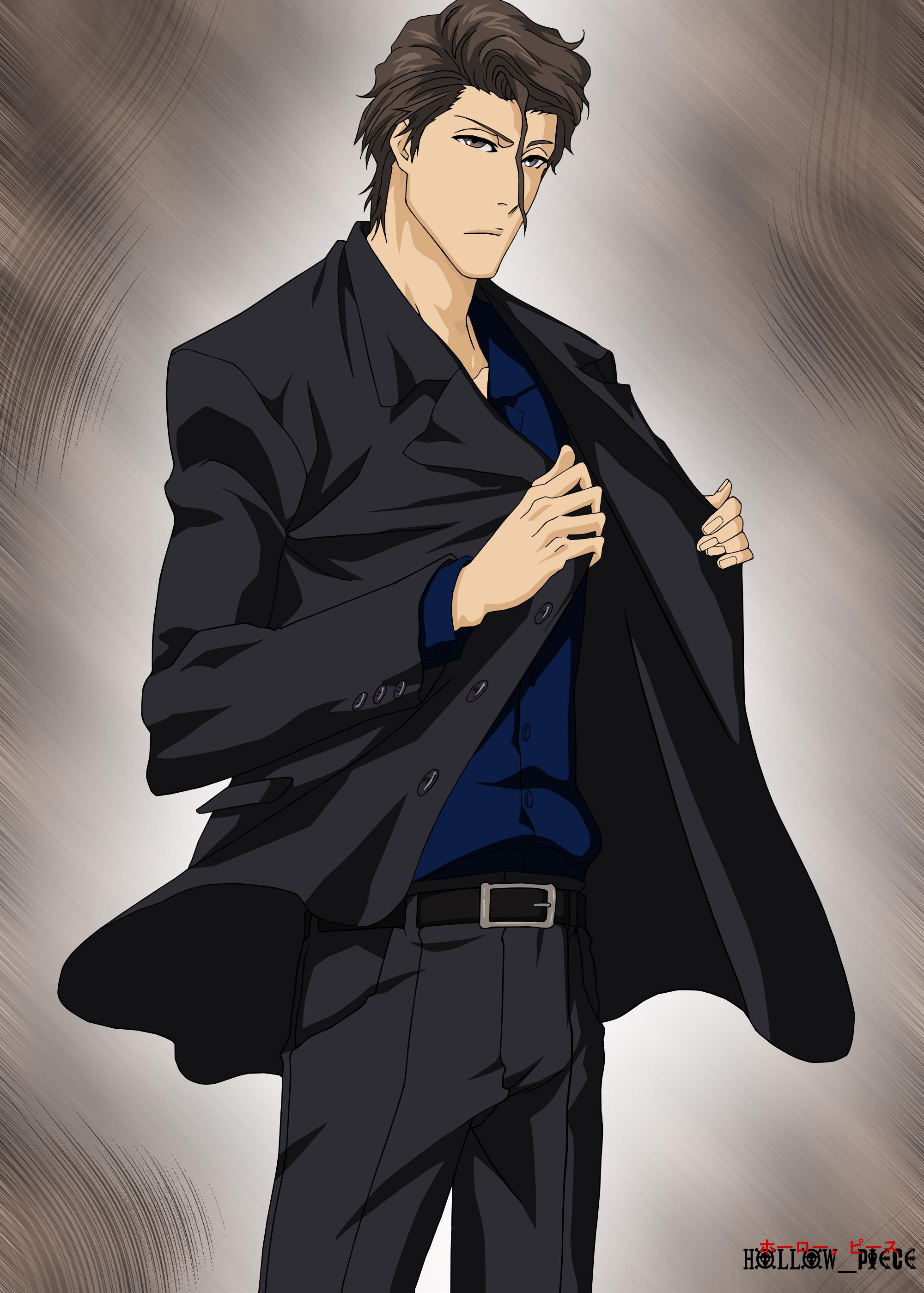 Aizen Sosuke by HollowPiece on DeviantArt  Aizen Sosuke by...