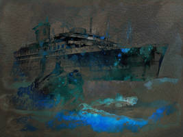 Wreck of SS American Star by JustinSchroeder