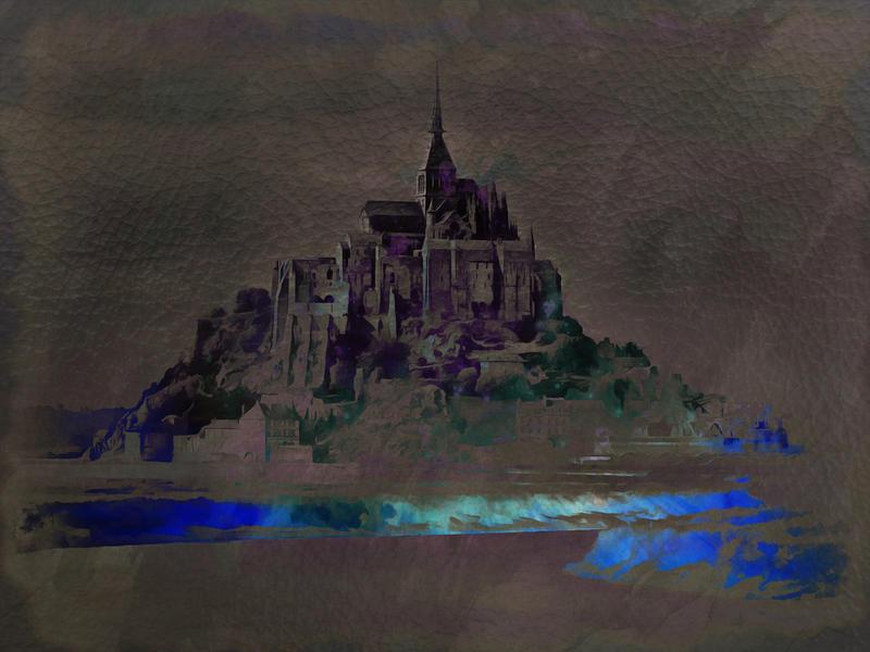 Mont St. Michel by JustinSchroeder