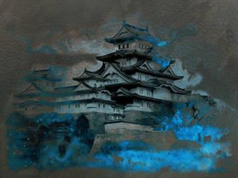 Himeji Castle by JustinSchroeder