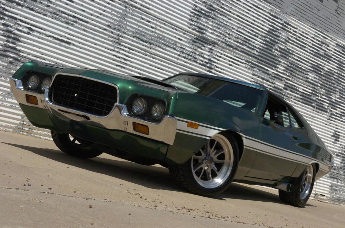 1972 ford gran torino sport fnf4 by 4wheelssociety