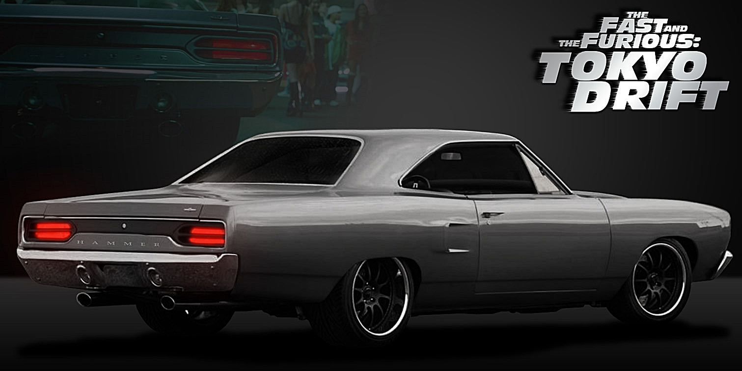 plymouth gtx fast and furious tokyo drift by 4wheelssociety on deviantart. Black Bedroom Furniture Sets. Home Design Ideas