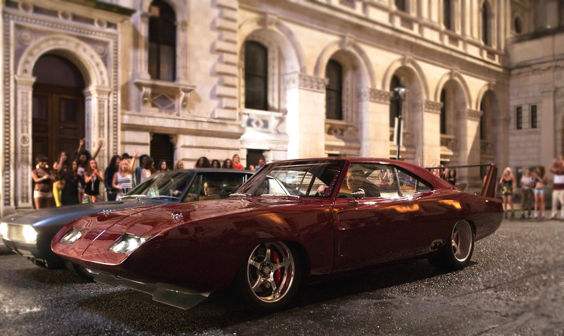 Dodge Charger Daytona 1969 - Dominic Toretto by 4WheelsSociety on ...