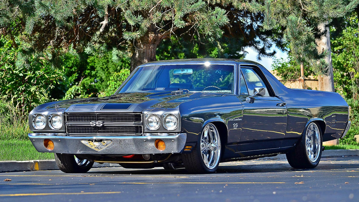 1970 chevrolet el camino ss by 4wheelssociety on deviantart. Black Bedroom Furniture Sets. Home Design Ideas