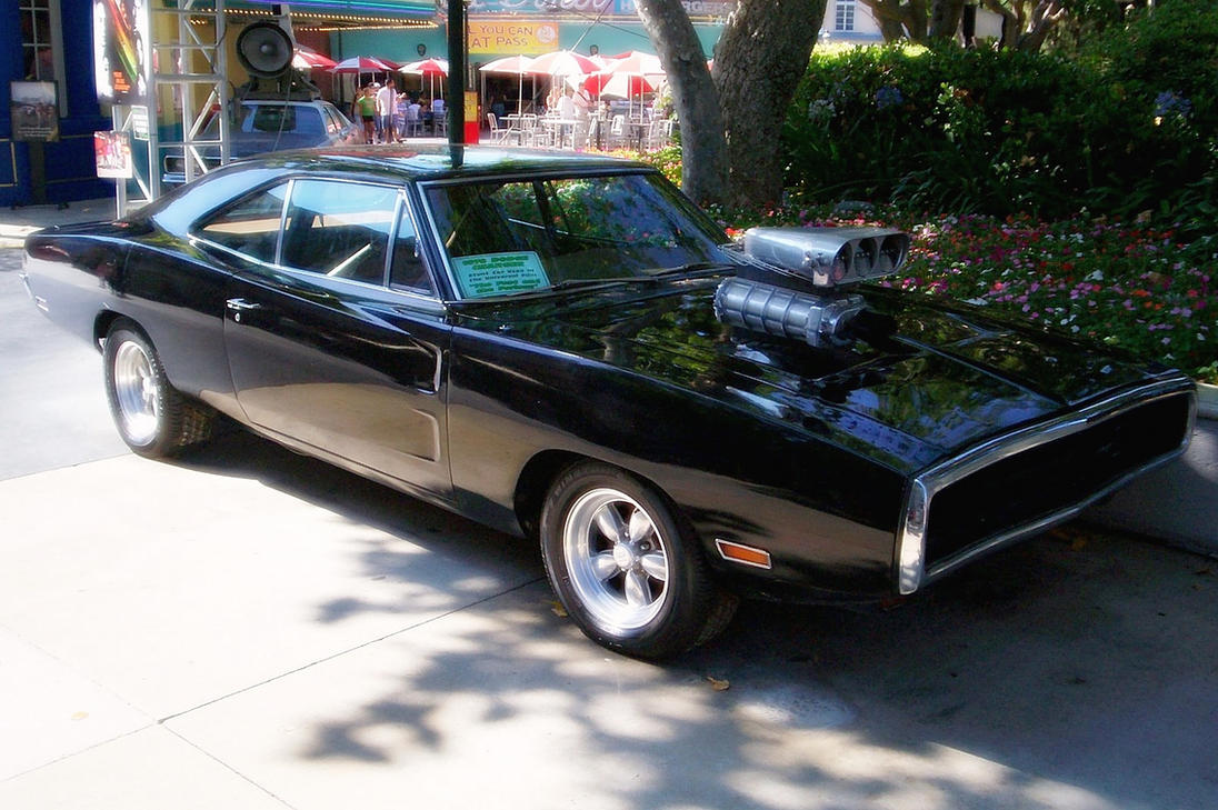 1970 - Dodge Charger RT (With Blower) by 4WheelsSociety on ...