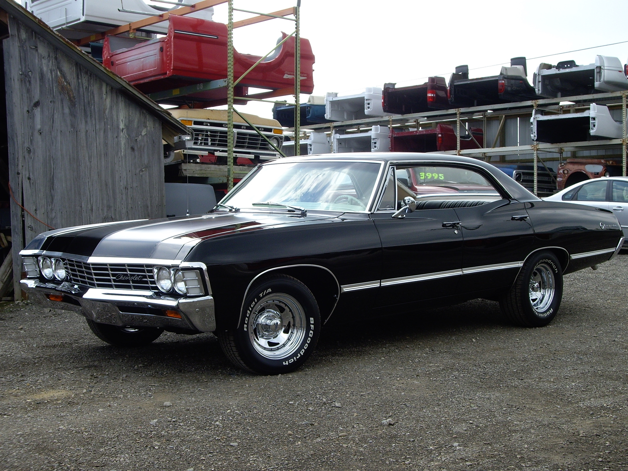 1967 - Chevrolet Impala 4 Door Hardtop by 4WheelsSociety on DeviantArt
