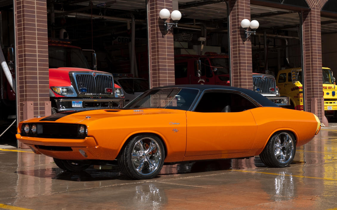 1969 - dodge challenger rt (custom)4wheelssociety on deviantart