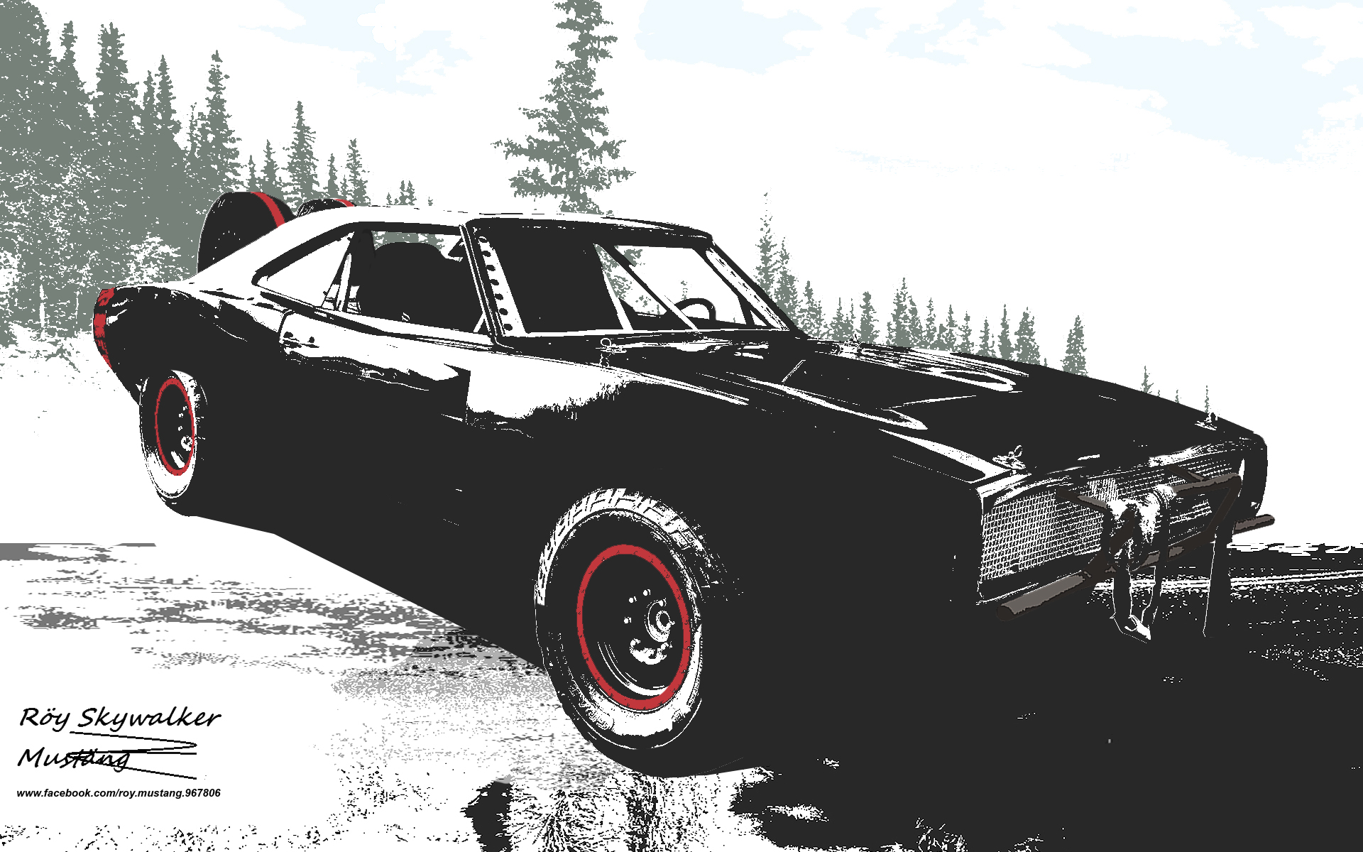1970 Dom S Charger Rt Off Road By 4wheelssociety On