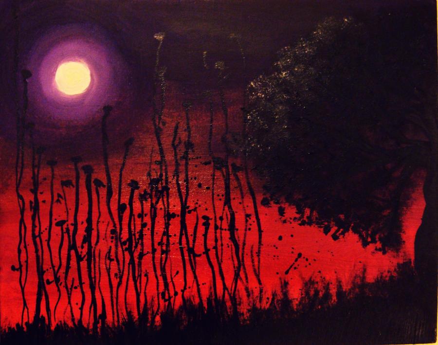 the moonlight. by VelvetNights