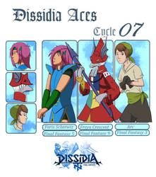 Dissidia Aces Cycle 07 Application. by icecheetah