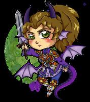 Chibi Roxy Dragon Knight