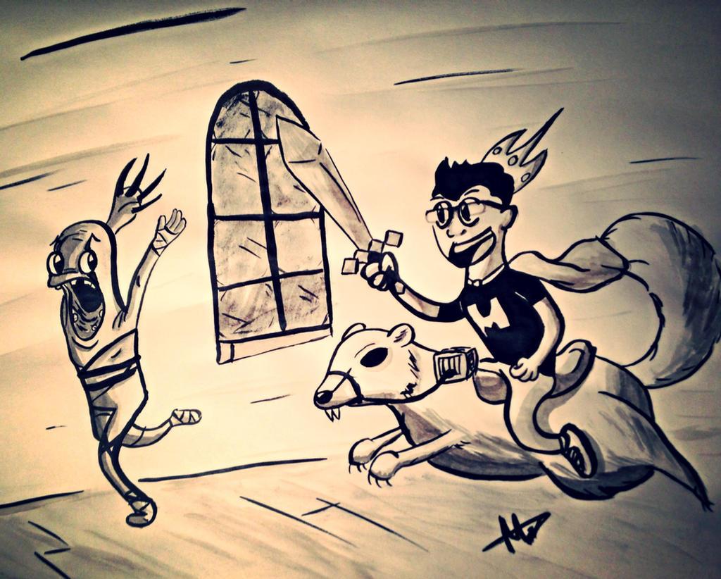 Revenge of The King of the Squirrels - Markiplier by MCorbran23