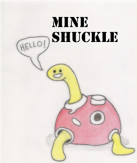 Mine Shuckle by flamecatcher