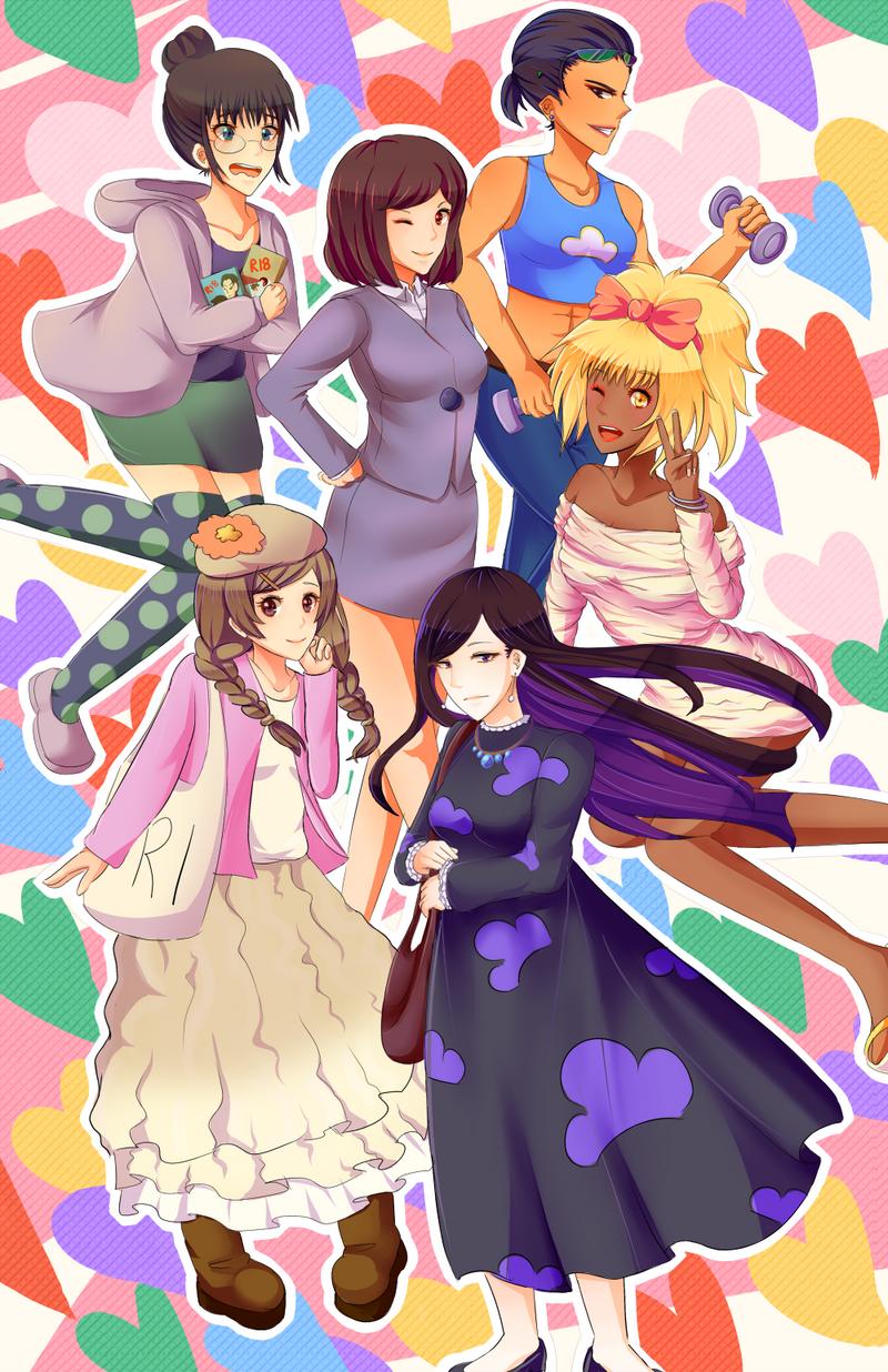 Osomatsu girls
