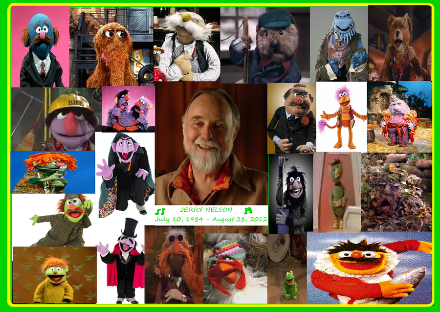 Remembering Jerry Nelson (July 10, 1934-August 23, 2012 ...
