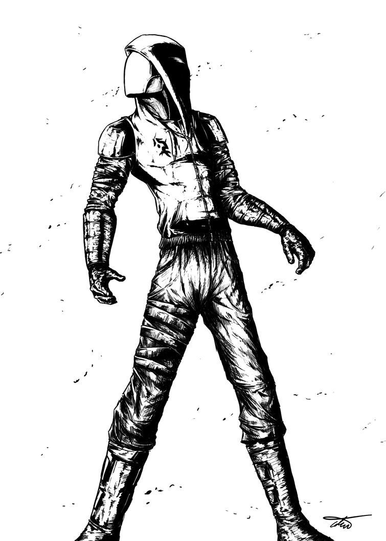 Black Hood by munchkin-t