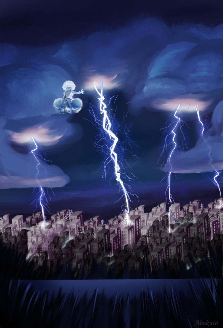 Thunderstorms by Abakura