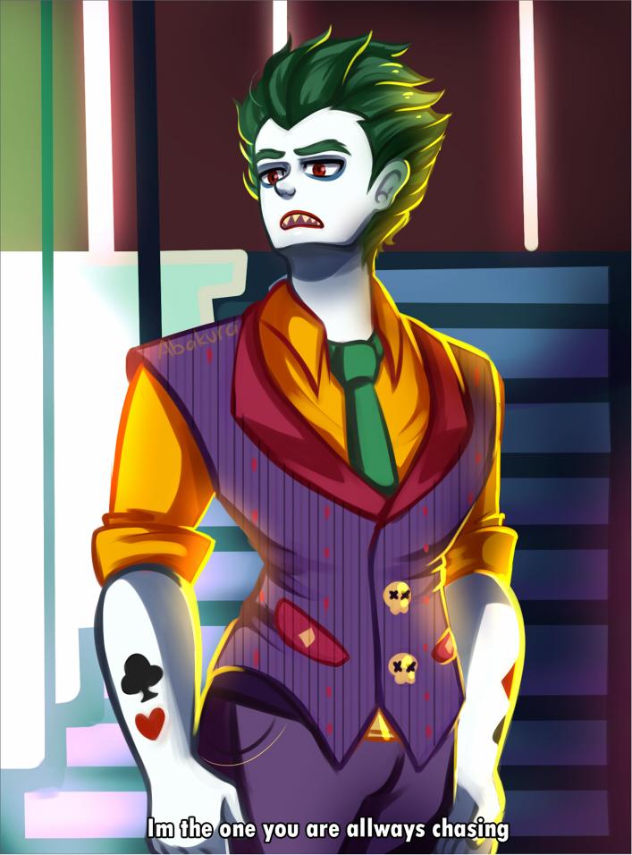 Joker by Abakura on DeviantArt